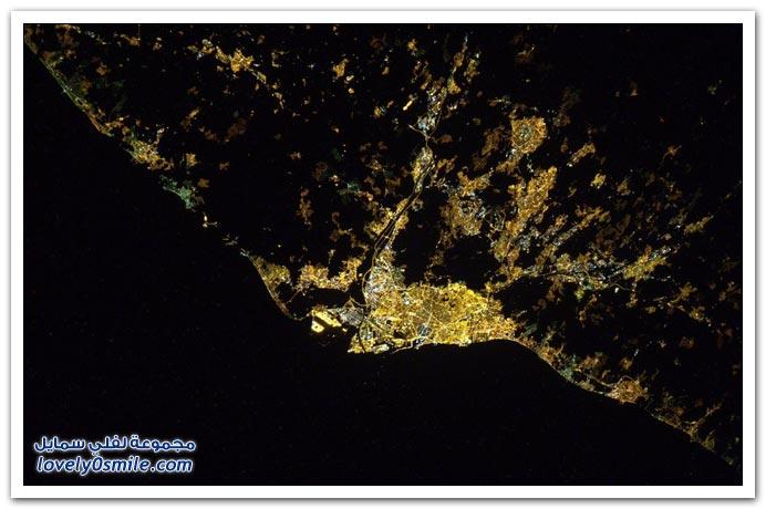 صور من الفضاء للكوكب الجميل