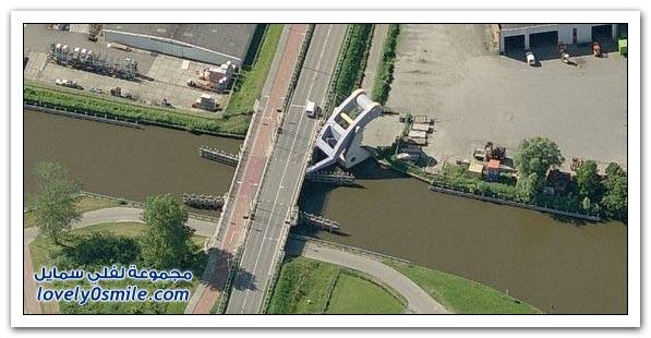 الجسر القلاب المتحرك في هولندا, تصميم رائع