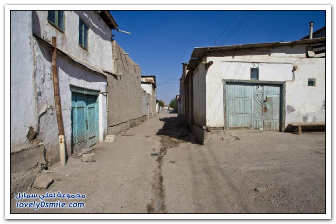 البلدة القديمة لبخارى في أوزبكستان