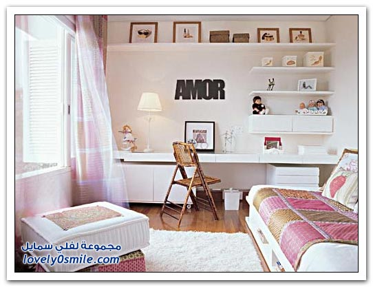 صور غرف نوم رائعة للأطفال