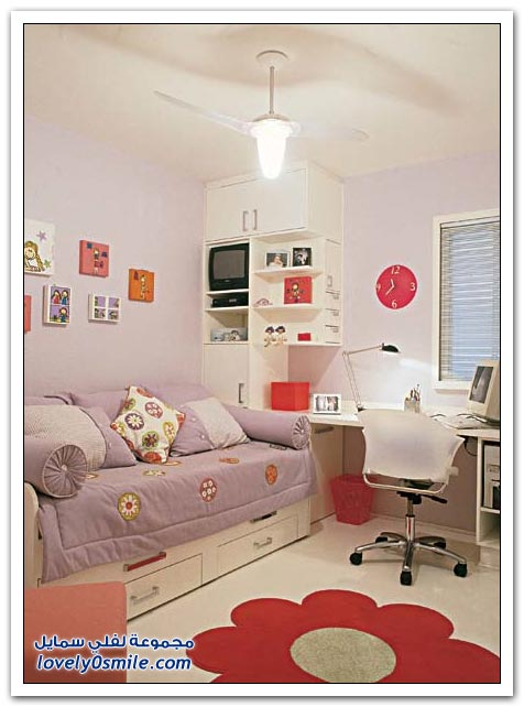 Modern girl rooms pictures