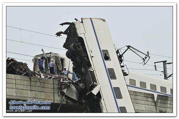 كارثة قطار الصين