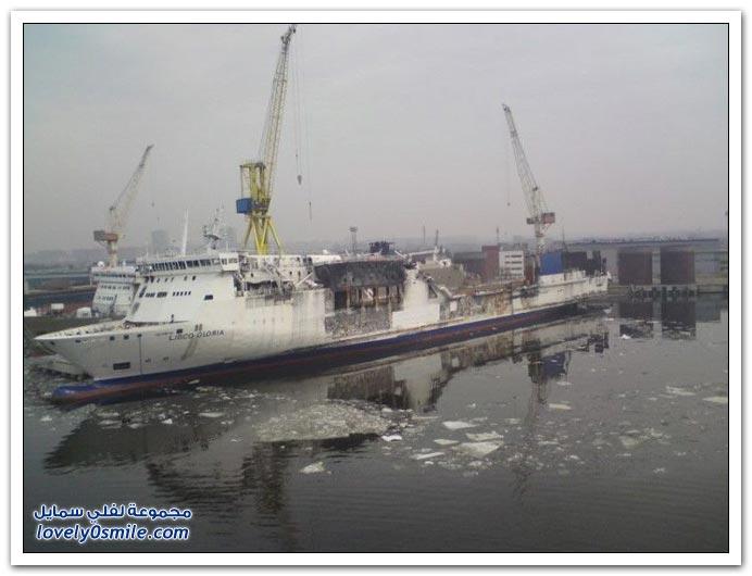 صور لحوادث سفن