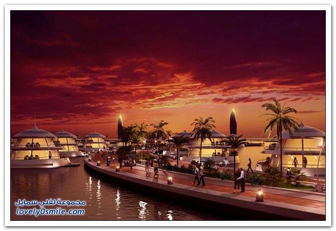 المنتجع البرمائي الأكثر فخامة في قطر والعالم