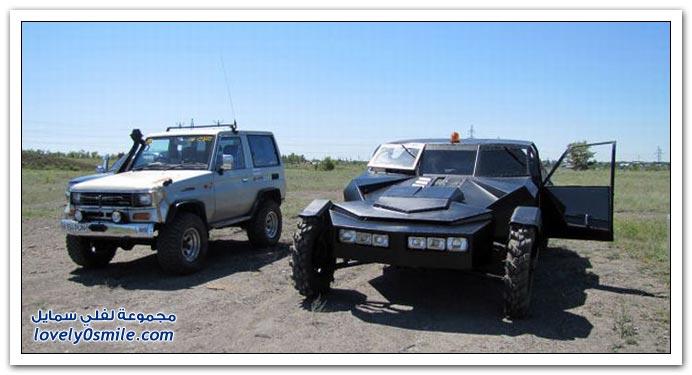 صناعة سيارة في منزل في كازاخستان