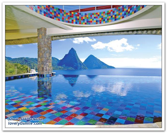 فندق رائع في منطقة البحر الكاريبي