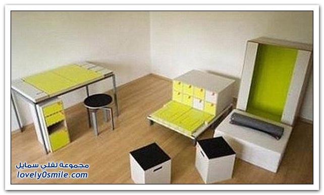 صندوق واحد تجد فيه كل أثاث الغرفة