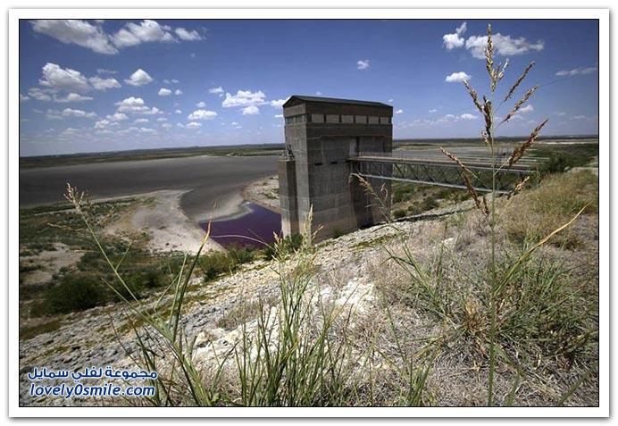 الجفاف الرهيب غير المسبوق في ولاية تكساس