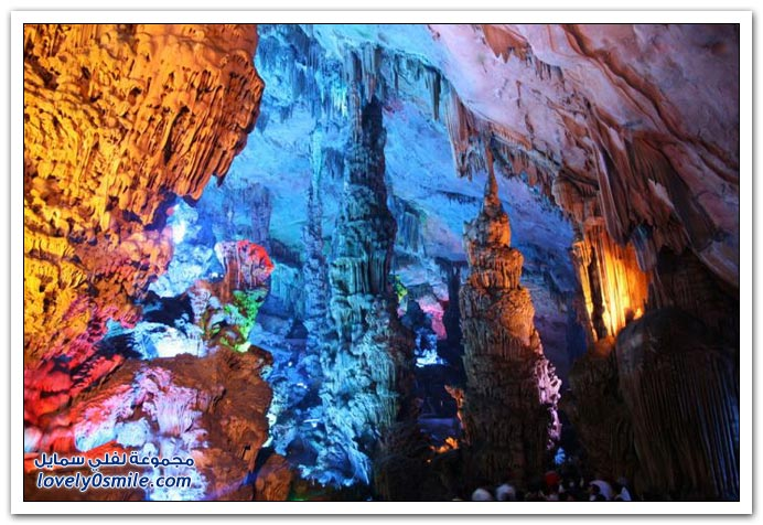 أحد كهوف الصين من أجمل الكهوف في العالم