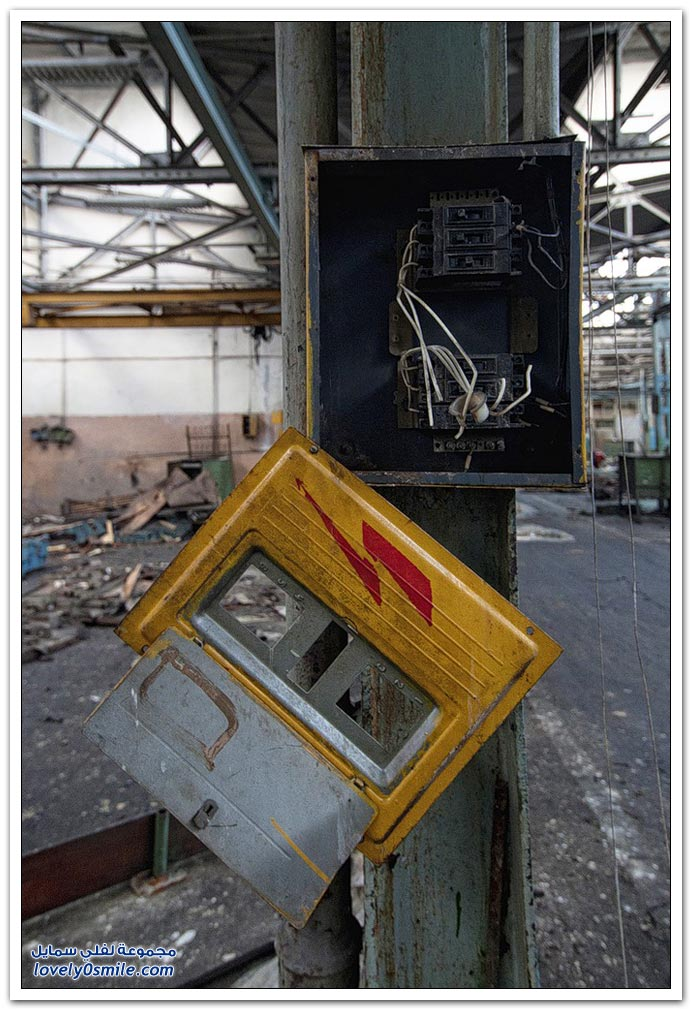 صور لمصانع عملاقة أيام الإتحاد السوفيتي مهجورة