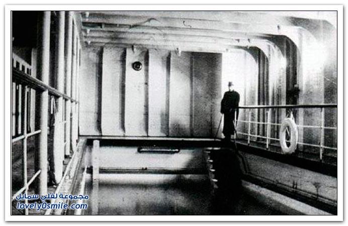 جولة داخل سفينة تيتانيك