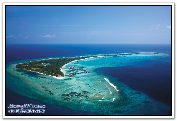 منتجع Villingili في أحد جزر الملديف