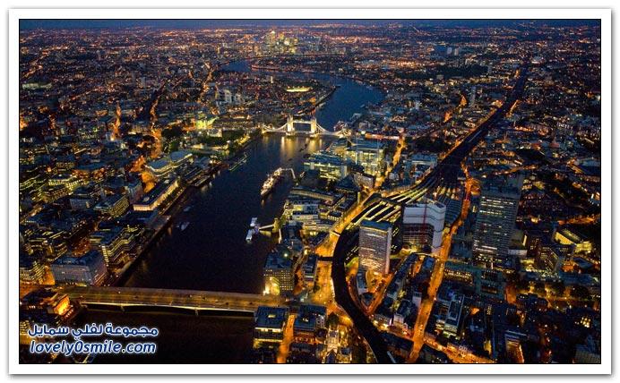 لندن في الليل