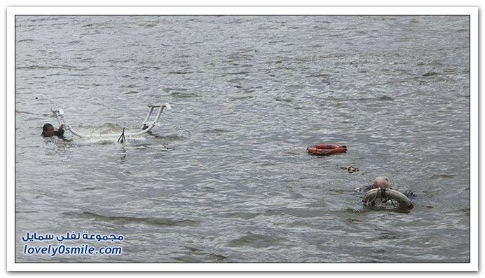 سقوط هليكوبتر في مانهاتن