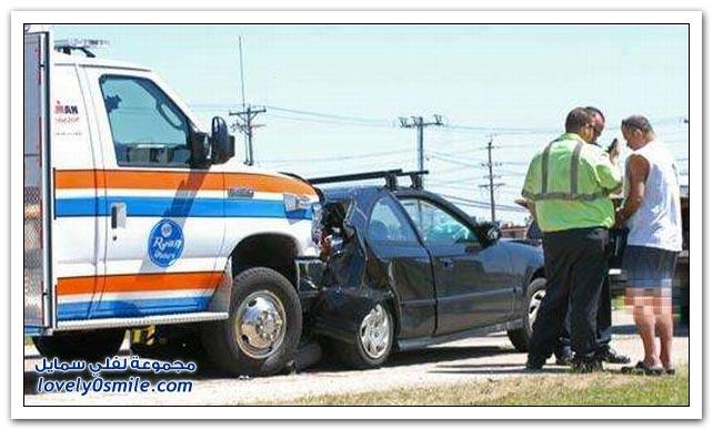 سيارات الإسعاف في ورطة