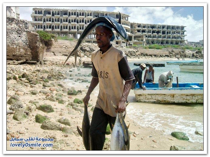 أسمـــــــاك الصومــــــــال Fishermen-in-Somalia