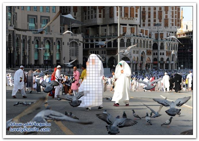 صور الحج وعيد الأضحى حول العالم لعام 1432هـ