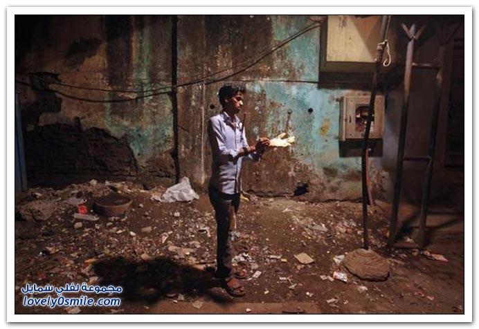 صائد الفئران في الهند يأخذ 3 دولار لكل ثلاثين فأر