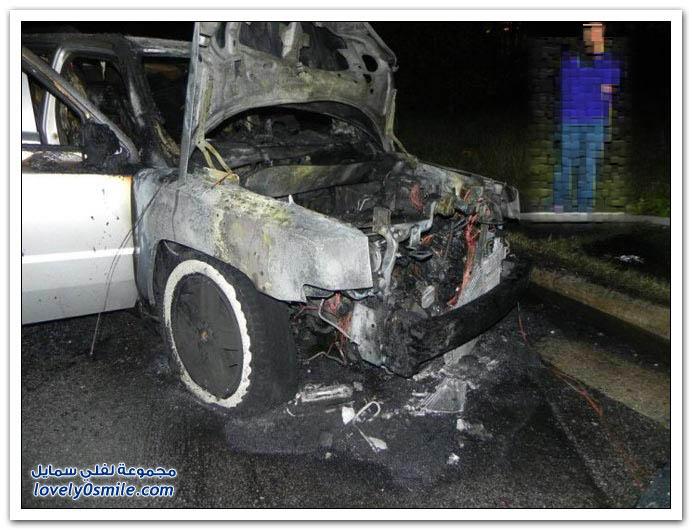اشتراك لسيارة بالخطأ يحرق السيارتين