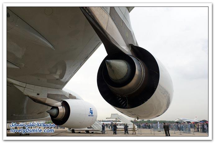 جولة داخل طائرة ايرباص A-380
