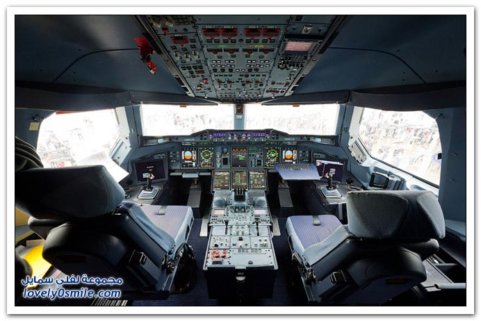 طائرة ايرباص a-380 tour-of-the-Airbus-A