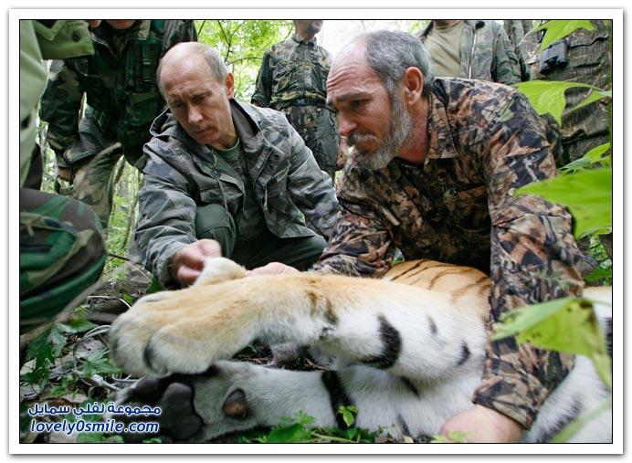 الرئيس الروسي فلاديمير بوتين وحبه للشهرة ج1