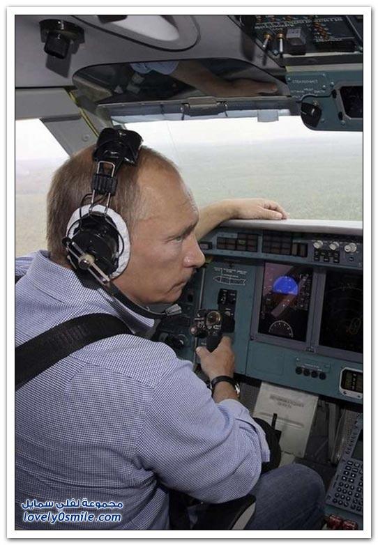الرئيس الروسي فلاديمير بوتين وحبه للشهرة ج2