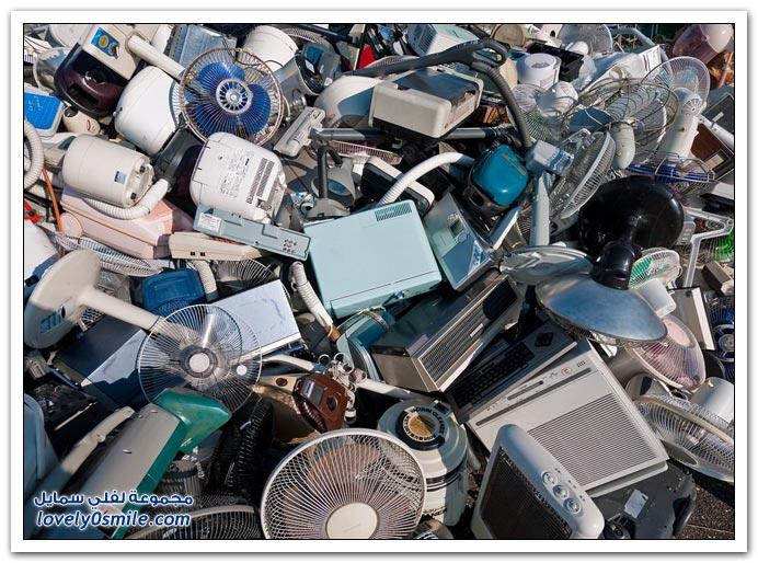 الأجهزة المستخدمة في اليابان تشحن إلى الصين