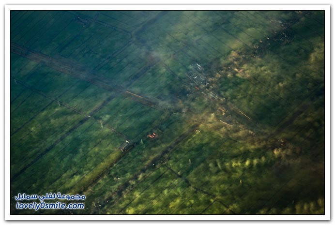 صور رحلة بالطائرة من أمستردام إلى ساو باولو