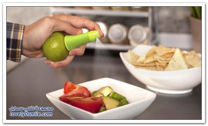ابتكار رائع رشاش الليمون