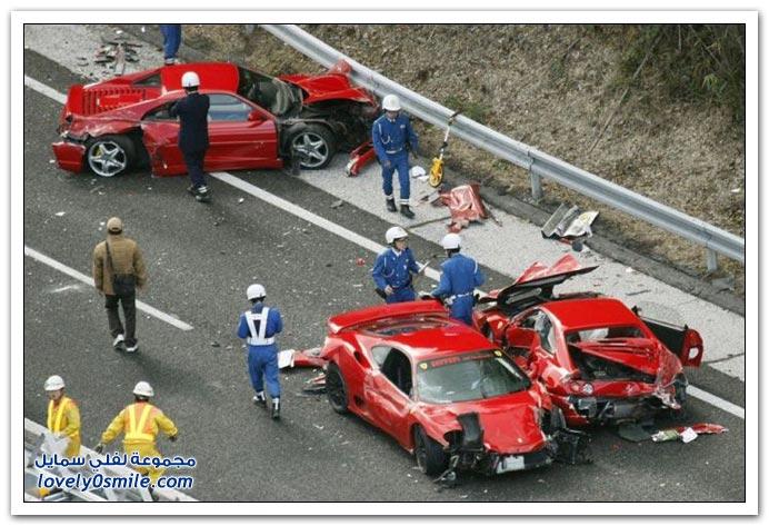 من أغلى الحوادث في العالم