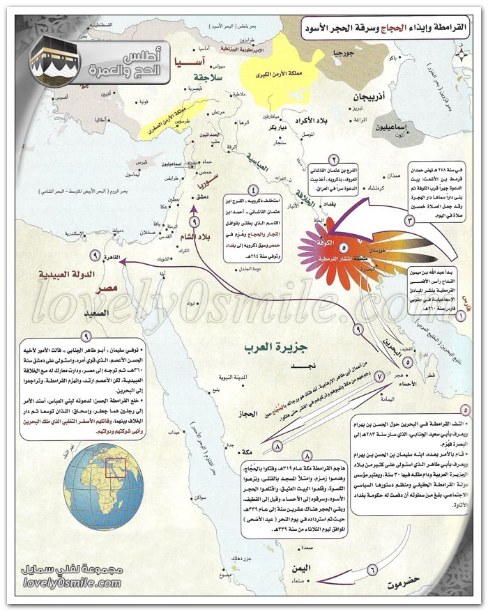 انتشار الإسلام - الحج في صدر الإسلام حتى نهاية العصر المملوكي