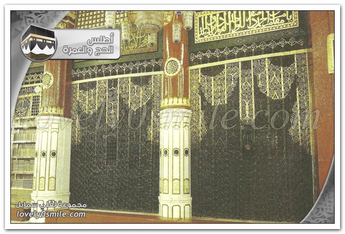 من معالم المسجد النبوي + الروضة الشريفة