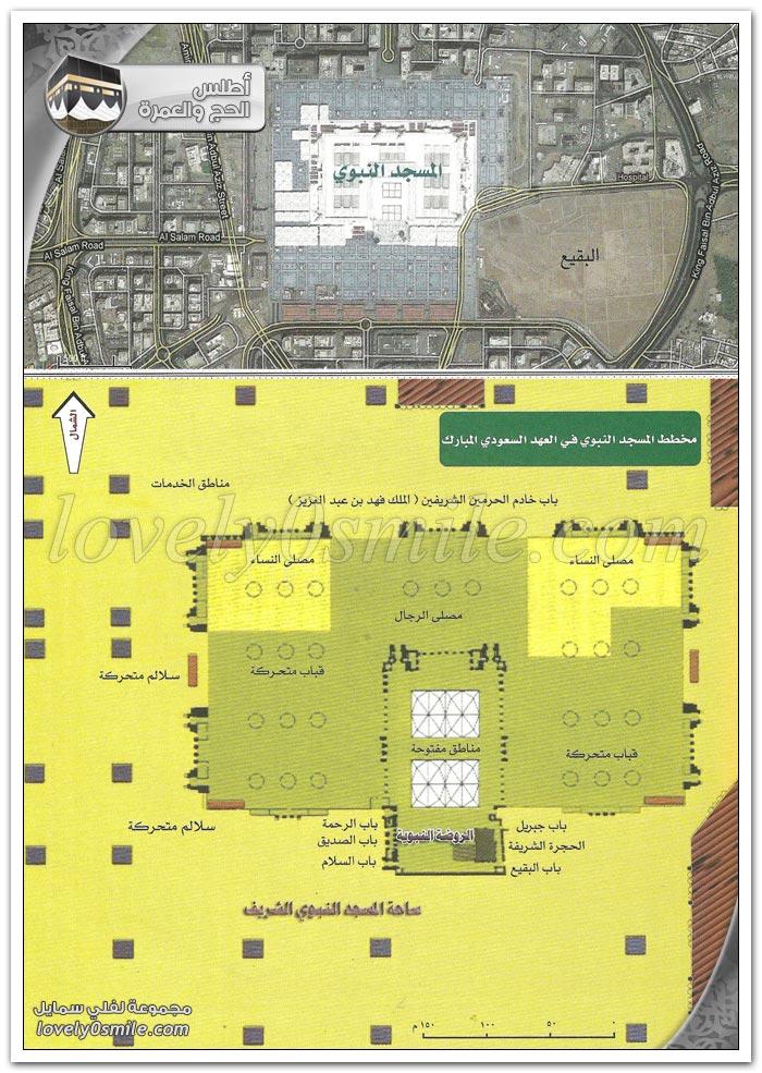 مآذن المسجد النبوي - من معالم المسجد النبوي الشريف