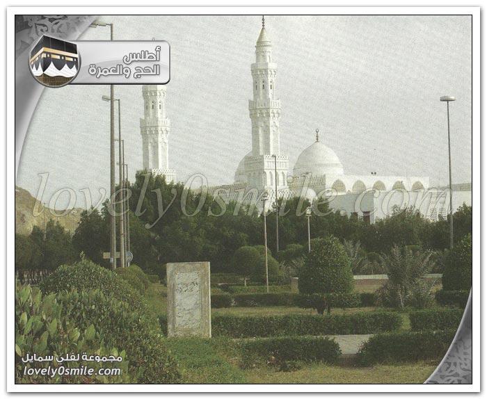 مسجد الإجابة + مسجد السجدة + مسجد القبِلَتَيْن
