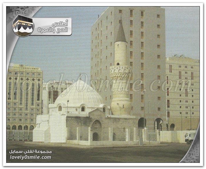 مسجد الراية + مسجد الغمامة + مسجد أبي بكر الصدِّيق رضي الله عنه