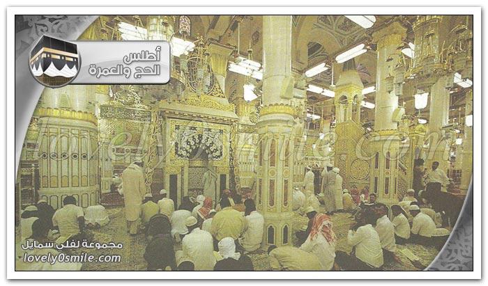 السُنن عند زيارة المسجد النبوي الشريف