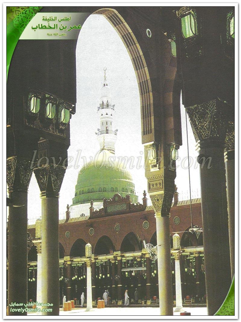 عمر بن الخطاب في الجاهلية + صفاته + إسلام + هجرته رضي الله عنه