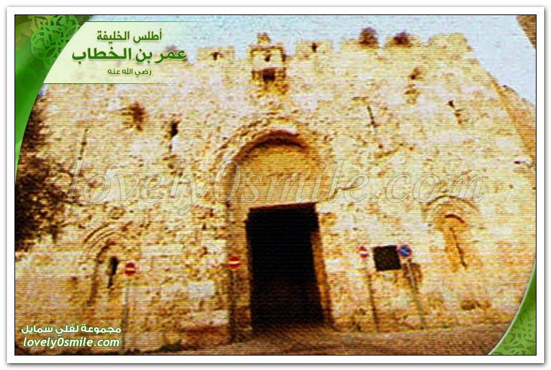 كنيسة القيامة + فتح قيسارية + عام الرمادة + طاعون عمواس