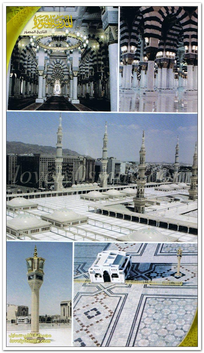 فضل المسجد النبوي وأدبه + بناء المسجد وتوسعاته