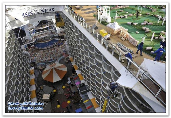 من أكبر السفن السياحية في العالم Allure of the Seas
