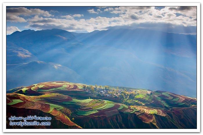 مناظر خلابة في مقاطعة يوننان الصينية