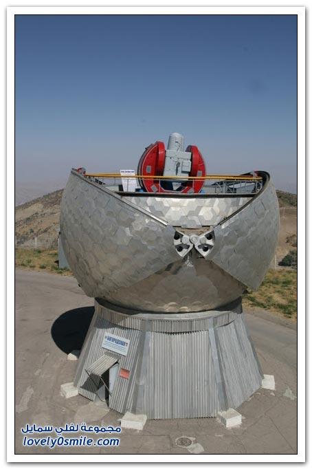 مجمع لرصد الفضاء بقرب مدينة نوريك الطاجيكية