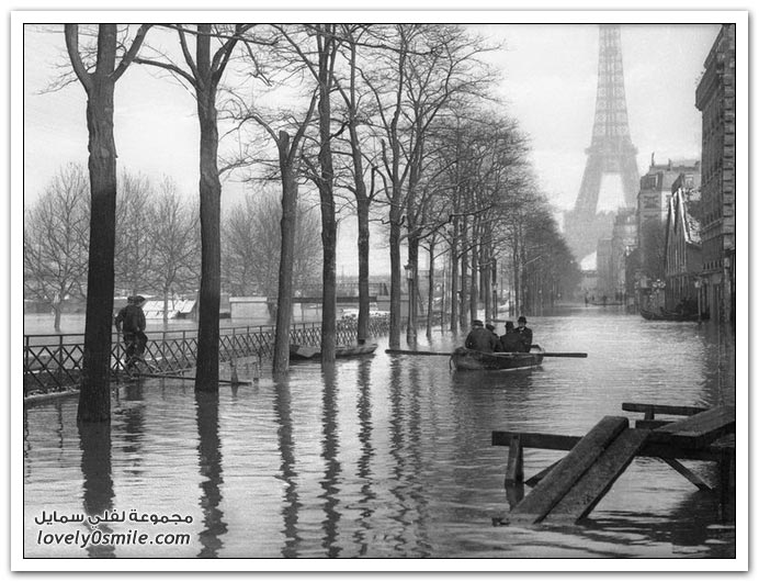 الفيضانات في باريس عام 1910م