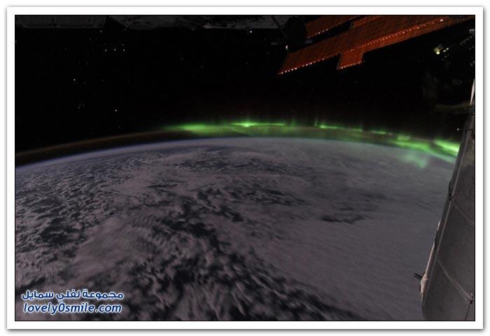 كيف تبدو الأرض من الفضاء؟