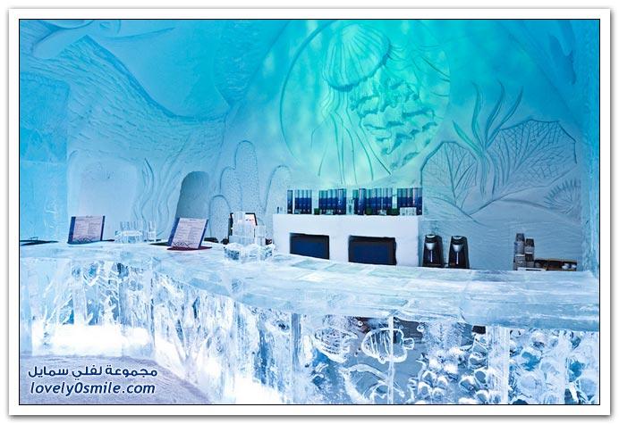 فندق الجليد في كندا