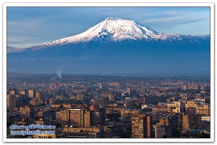 جبل أرارات في تركيا