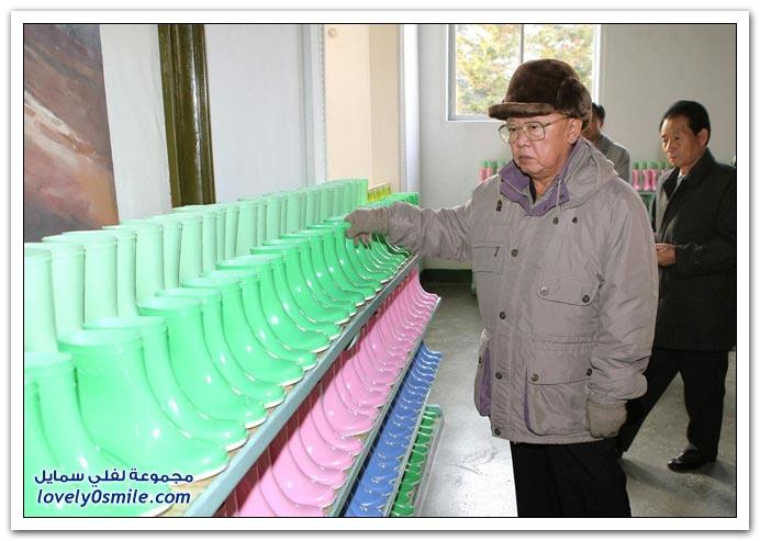 رئيس كوريا الشمالية كيم جونغ ايل 1942-2011