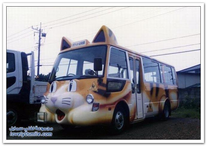 باصات المدارس في اليابان