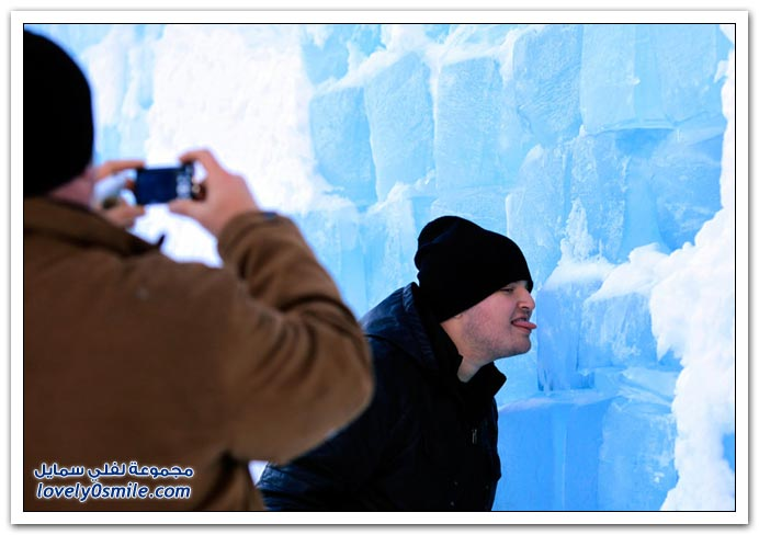 صور الشتاء حول العالم